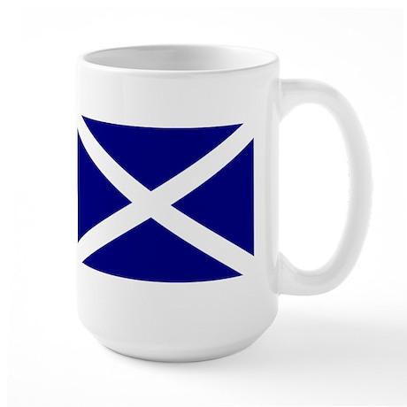 Flag of Scotland Large Mug