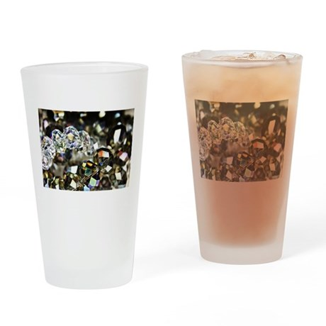 Sparkling Beads Drinking Glass