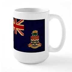 Cayman Islands Flag Large Mug