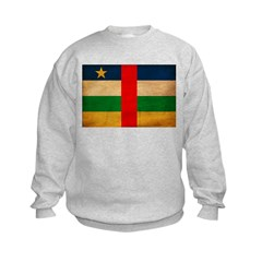 Central African Republic Flag Sweatshirt