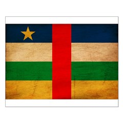Central African Republic Flag Posters