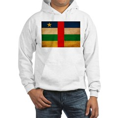 Central African Republic Flag Hoodie