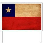 Chile Flag Yard Sign