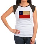 Chile Flag Women's Cap Sleeve T-Shirt