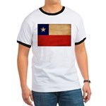Chile Flag Ringer T