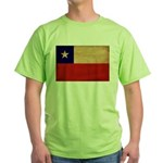Chile Flag Green T-Shirt