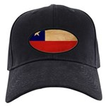 Chile Flag Black Cap