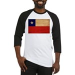 Chile Flag Baseball Jersey