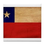 Chile Flag Tile Coaster