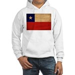 Chile Flag Hooded Sweatshirt