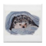 Hedgehog II Tile Coaster