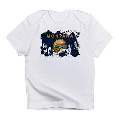 Montana Flag Infant T-Shirt