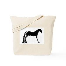 saddle horse Tote Bag