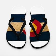 Colorado Flag Flip Flops