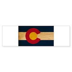 Colorado Flag Sticker (Bumper)