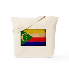 Comoros Flag Tote Bag