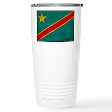 Congo Flag Travel Mug