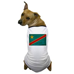 Congo Flag Dog T-Shirt