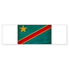 Congo Flag Bumper Sticker