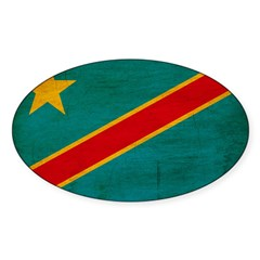 Congo Flag Decal
