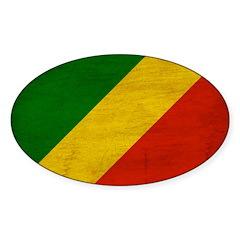 Congo Republic Flag Decal
