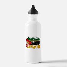 Mozambique Flag Water Bottle