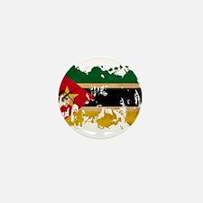 Mozambique Flag Mini Button