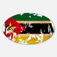 Mozambique Flag Decal