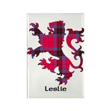 Lion - Leslie Rectangle Magnet