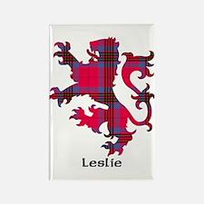 Lion - Leslie Rectangle Magnet