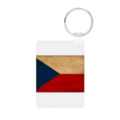 Czech Republic Flag Keychains