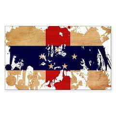 Netherlands Antilles Flag Decal