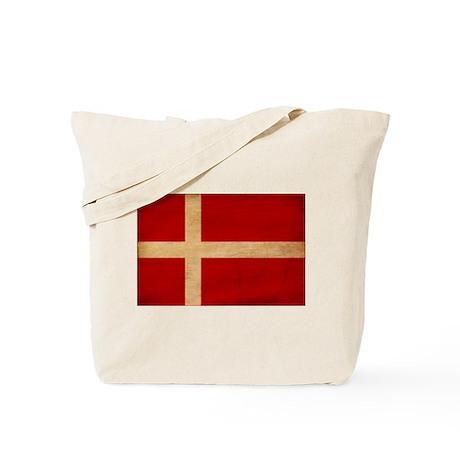 Denmark Flag Tote Bag