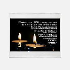 Inner Flame Throw Blanket