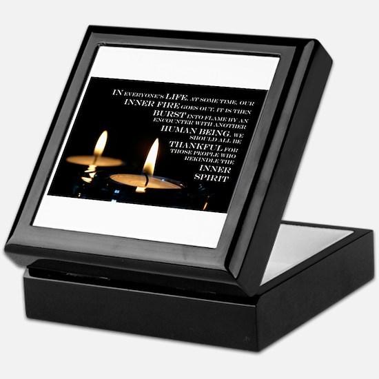 Inner Flame Keepsake Box