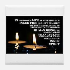Inner Flame Tile Coaster