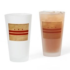 District of Columbia Flag Drinking Glass