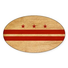 District of Columbia Flag Decal