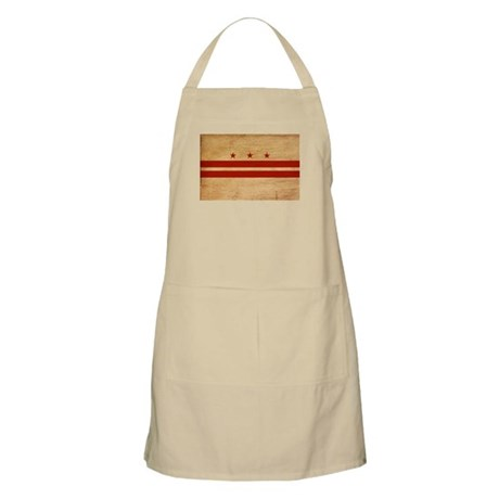 District of Columbia Flag Apron