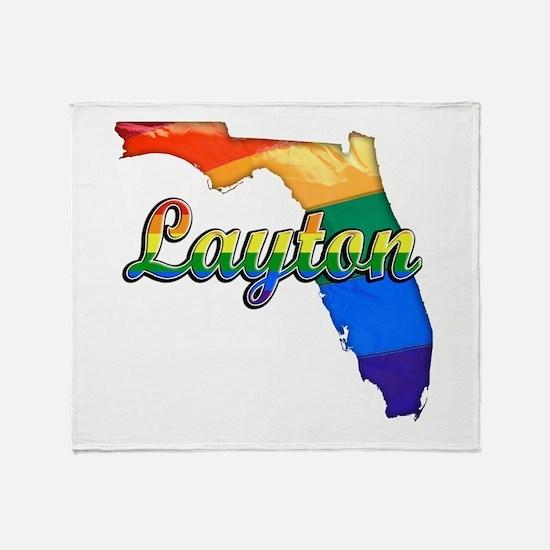 Layton, Florida, Gay Pride, Throw Blanket