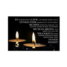 Inner Flame Rectangle Magnet