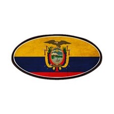 Ecuador Flag Patches
