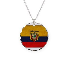 Ecuador Flag Necklace