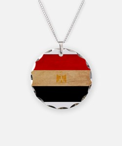 Egypt Flag Necklace