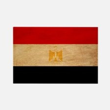 Egypt Flag Rectangle Magnet