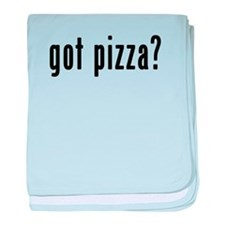 GOT PIZZA baby blanket