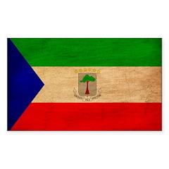 Equatorial Guinea Flag Decal