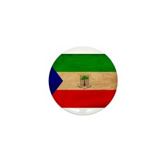 Equatorial Guinea Flag Mini Button (100 pack)