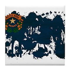 Nevada Flag Tile Coaster