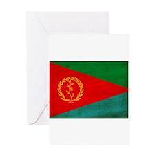 Eritrea Flag Greeting Card